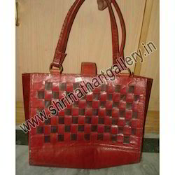Indian Leather Bags In Cross Color