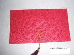 Screen Printed Handmade Paper Envelopes