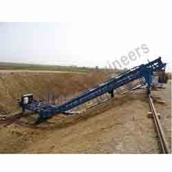 Canal Paver Machine