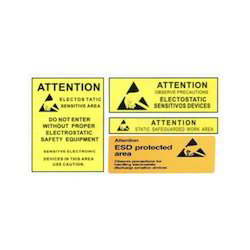ESD Warning Label