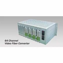 64 Channel Video Fiber Converter