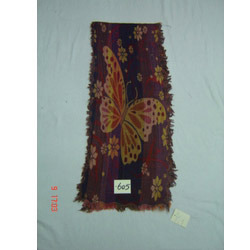 Woolen Jamawar Boiled Scarf