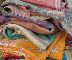 New Handmade Kantha Quilts