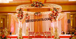 Latest Wedding Ash Mandap