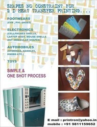 Foot Wear Printing Machine
