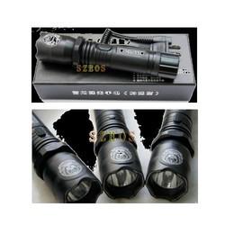 Aluminum LED Torch Type Stun Gun