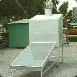 solar air dryer box type