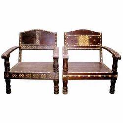 Cart Sofa Brass Worked