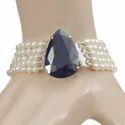 5 Strand Fresh Water Rice Pearl Beaded Bracelet