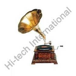 Square Wooden Base Gramophones