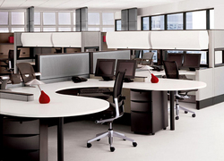 Modular Work Station Interior Designing