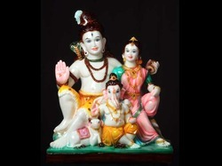 God Shiv Parvati and Ganesh Ji