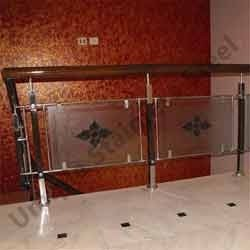 Stainless steel wood glass railings unique stainless - Glass and wood railing design ...