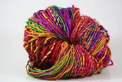 Multicolored Sari Silk Yarns For Knitting