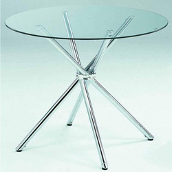 Glass Round Discussion Tables