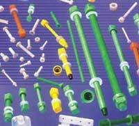 PP Coated - MS Insert Nut-Bolts & Studs