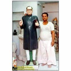 Dr. B.R Ambedkar Black Statue