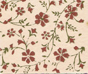 floral design block printed handmade papers