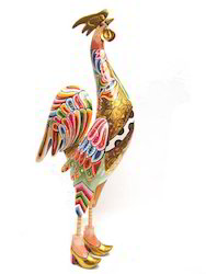 Rooster Hand Painted Crafts