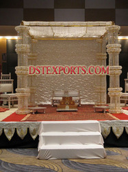 New Designer Crystal Mandap