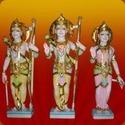 Marble Ram, Lakshman, Sita Sculpture
