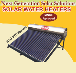Solar Water Heater - Evacuated Tube Collector(ETC System)