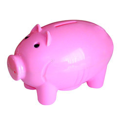 Pig Shaped Coin Banks
