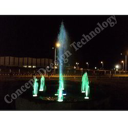Foam Jet Fountain With Centre Jet