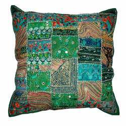 Multicolor Patchwork Pillow Cushion Cover