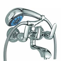 Wall Mixer with Telephonic Shower
