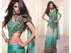 Indian Tissue Saree