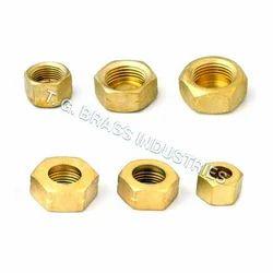 Brass Heavy Hex Nuts