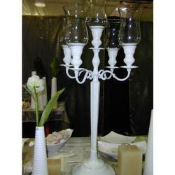 Hurricane 5 Light Candelabra Centerpiece
