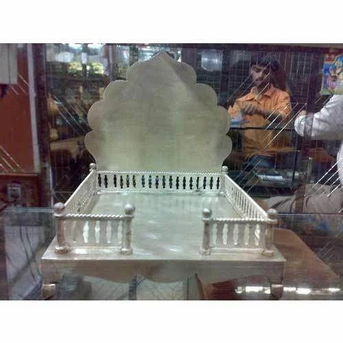 Silver Pooja Mandap