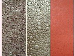 Two Tone Metallic Embossed Papers