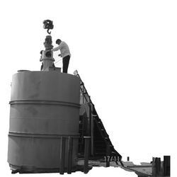 Storage Tank With Agitator