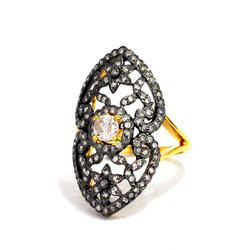 Designer Pave Diamond Rings