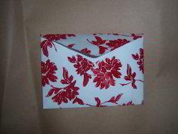 Flock Printed Handmade Paper Envelopes