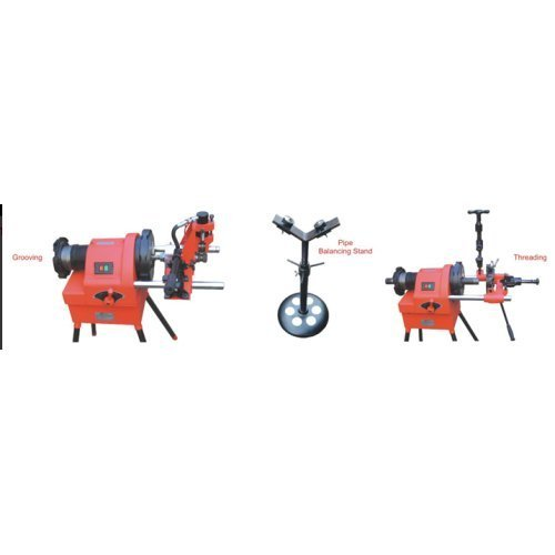 Electric Pipe Grooving & Threading Machine