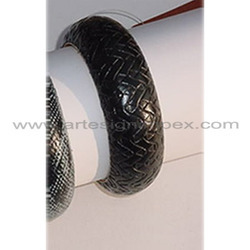 Faux Leather Bangles
