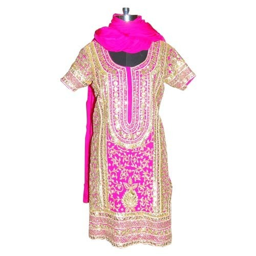 Ladies Apparel Embroidery Suits Manufacturer From Noida