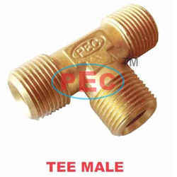 Olive T Male  Brass Compression Fittings