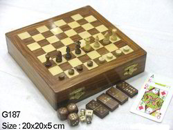 Chess Board With Full Set