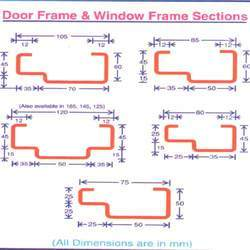 Door Frame Section