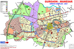 Gurgaon Master Plan Map