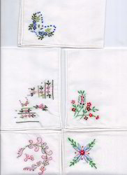 Hand Embroidery Hand kerchiefs