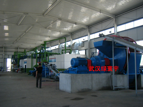Automatic Fine Rubber Powder Production Line