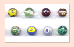 Designer Lampwork Glass Beads