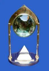 Pyramid Yantra for Sri Vastu Pillar 91