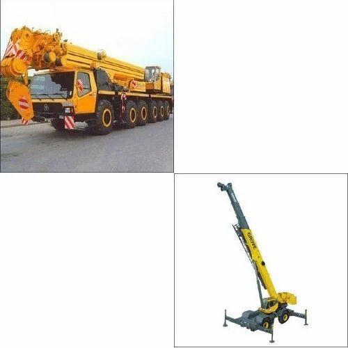 Telescopic Crane Hire : Service provider of cranes rental services crane hire by
